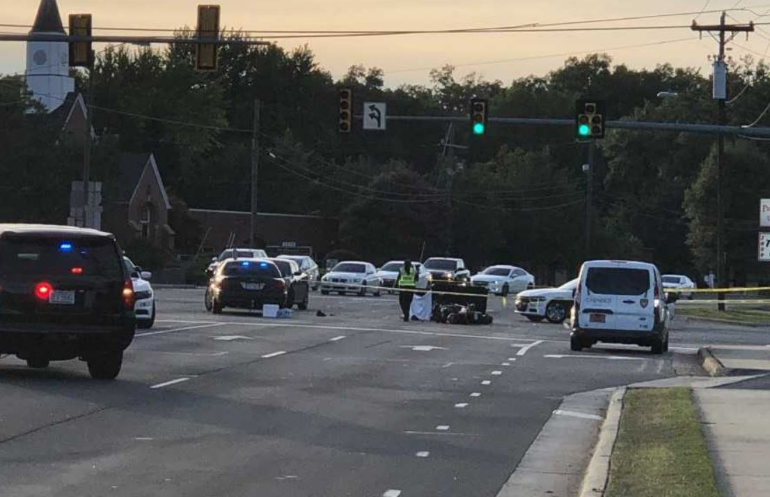 Man killed in motorcycle crash in Durham, police say | CBS 17