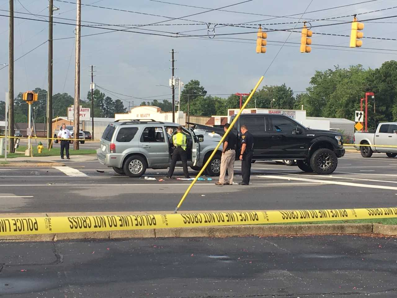 Police: Man shot while driving in Fayetteville, investigation