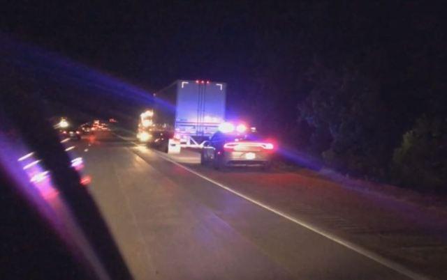 Car traveling 60 mph smashes into stopped 18-wheeler on I-40
