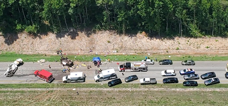 7 killed identified in I-85 crash in Georgia, 3 children