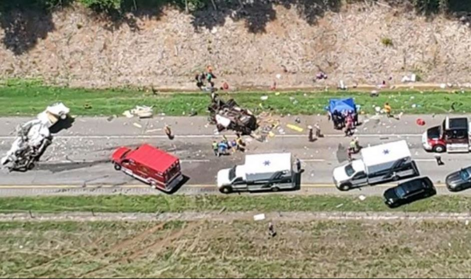 7 killed identified in I-85 crash in Georgia, 3 children taken to