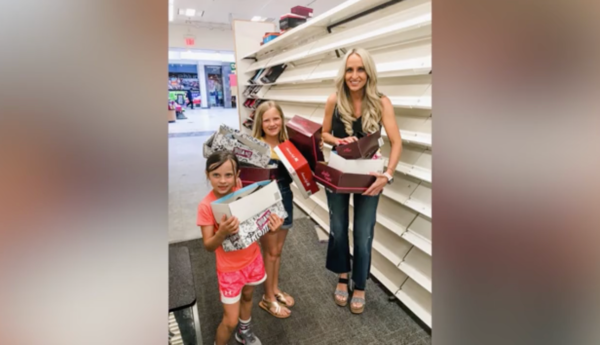 70f7cc69e7d Mom buys out entire Payless store to give shoes to kids in need | CBS 17