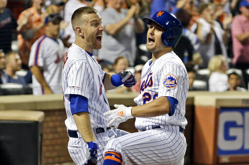 Mets work more magic, rally past Nats 4-3 for 8th win in row – CBS