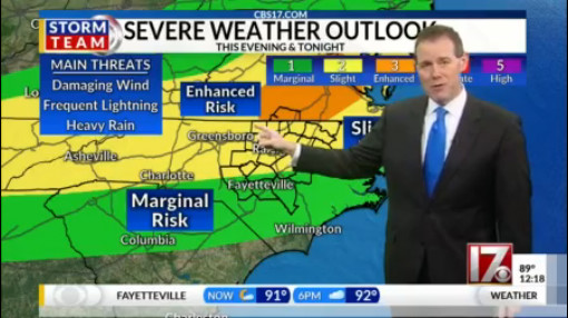 ALERT DAY: Severe storms possible late today