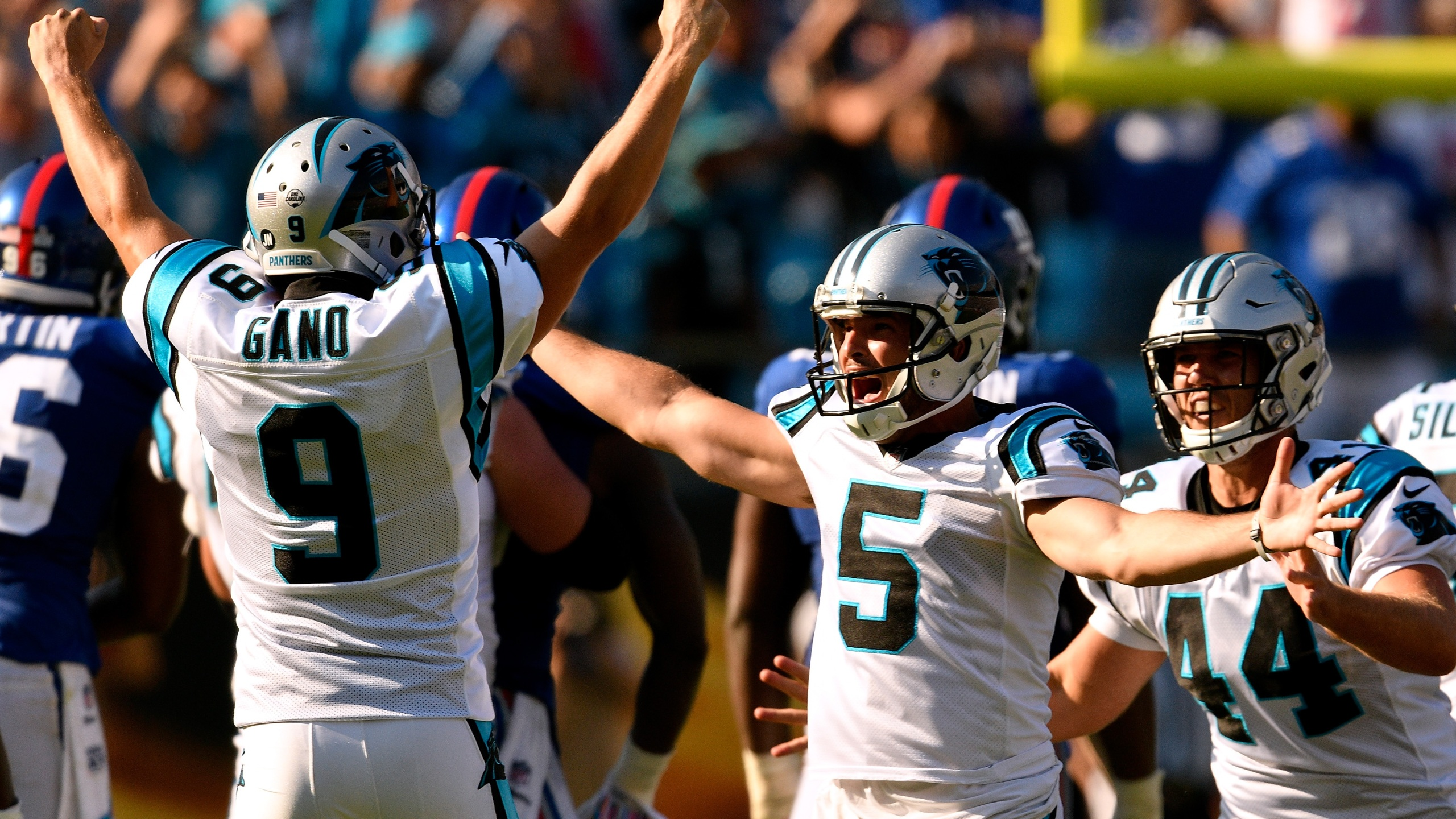 Panthers Put Kicker Gano On Injured Reserve Not Eligible
