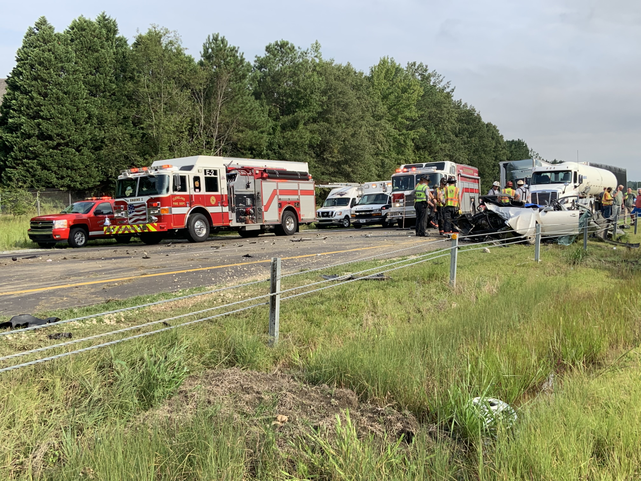 I-40 east reopens in Johnston County after fatal crash | CBS 17