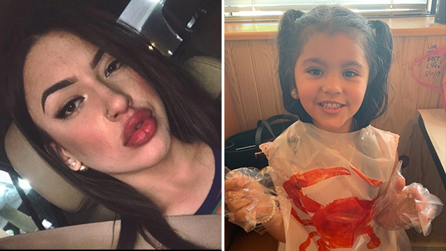 4-year-old Fayetteville girl found in Texas with human