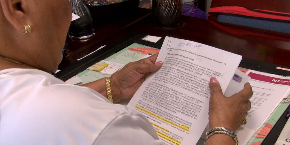NC county commissioner alerting FBI of racist letter sent to