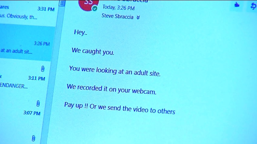 Sextortion' scams on the rise | CBS 17