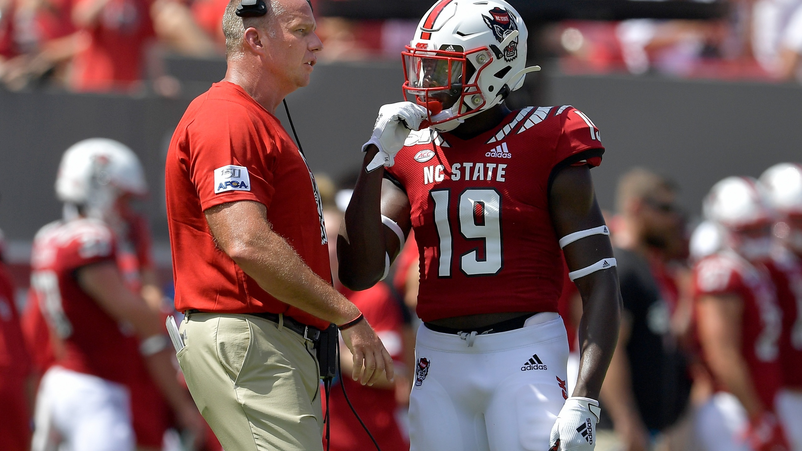 NC State receiver CJ Riley out for season with knee injury