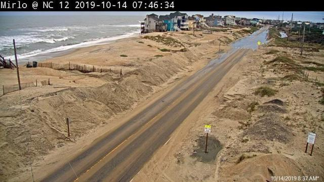 NC 12 reopens after storm pushes dune across Outer Banks highway