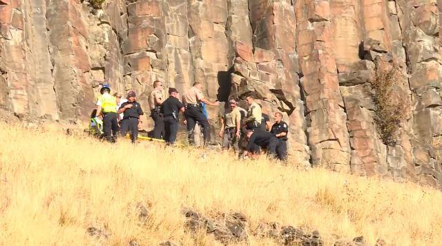 North Carolina man dies after rock-climbing fall in Idaho