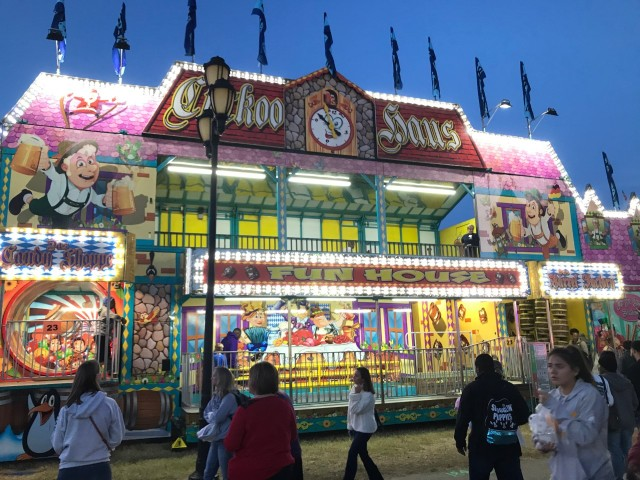NC State Fair fun house employee hospitalized after fall