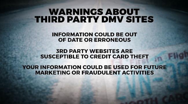 Third Party Dmv >> Spotting Phony Dmv Websites After New Payment Platform