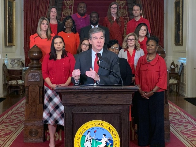 Gov. Cooper vetoes 4 bills impacting teacher raises, corporate tax cuts