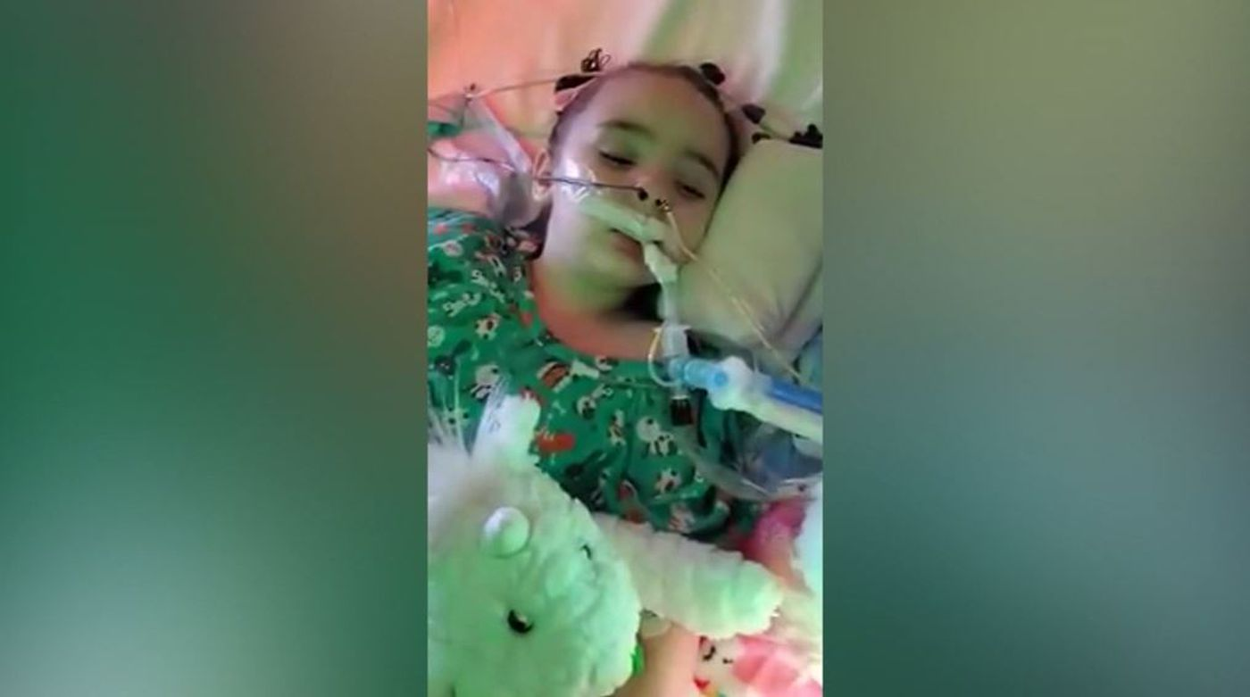 Amy Delucia it was touch and go': 4-year-old girl suffers brain damage
