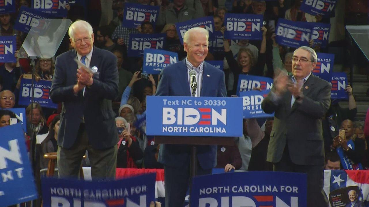 'Strong connections' among various communities help Joe Biden win North Carolina's primary race 1