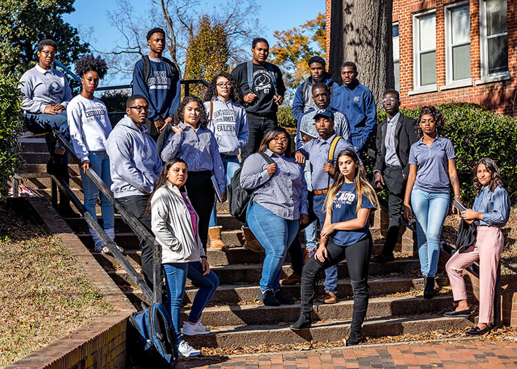 Saint Augustine's University Students
