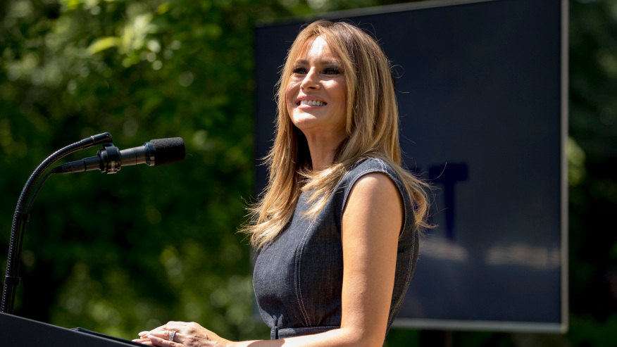 First Lady Melania Trump To Give Rnc Speech From Rose Garden Cbs 17