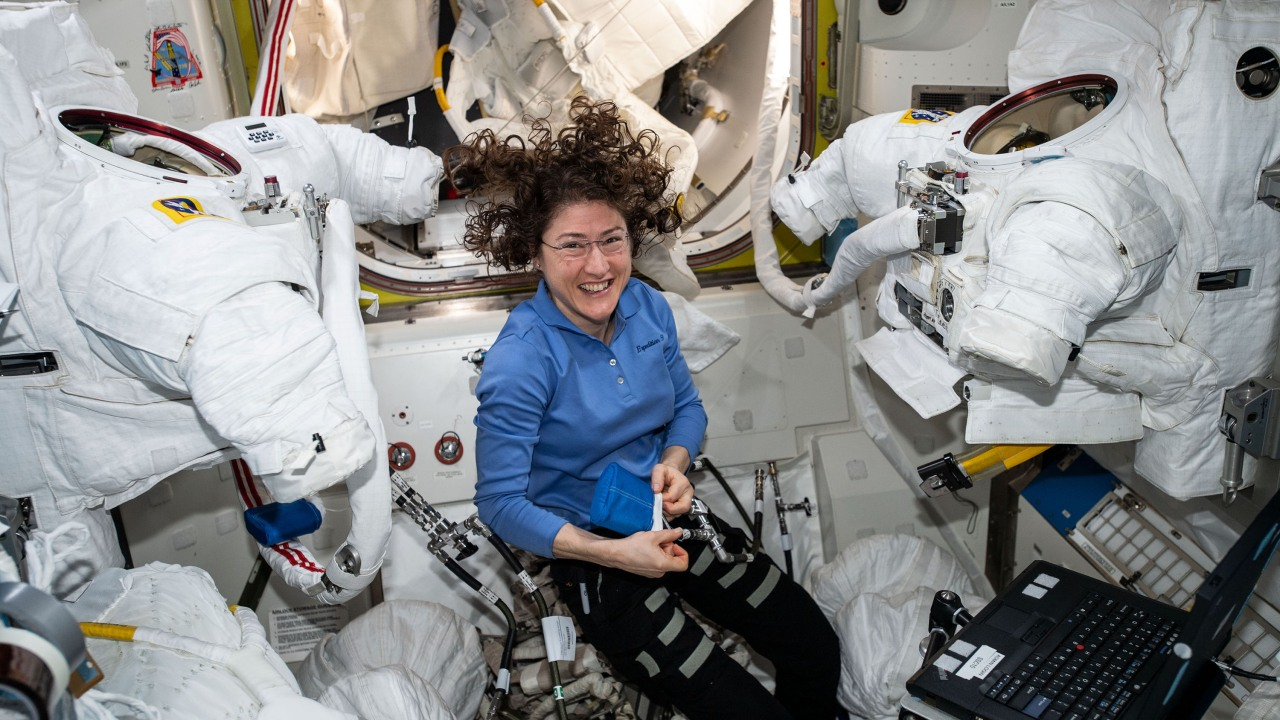 Record-setting astronaut, NC State alumna Christina Koch highlighted on Time 100 Most Influential People