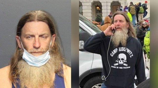 US Marshals arrest Virginia man who wore 'Camp Auschwitz' sweatshirt at Capitol riot - CBS17.com