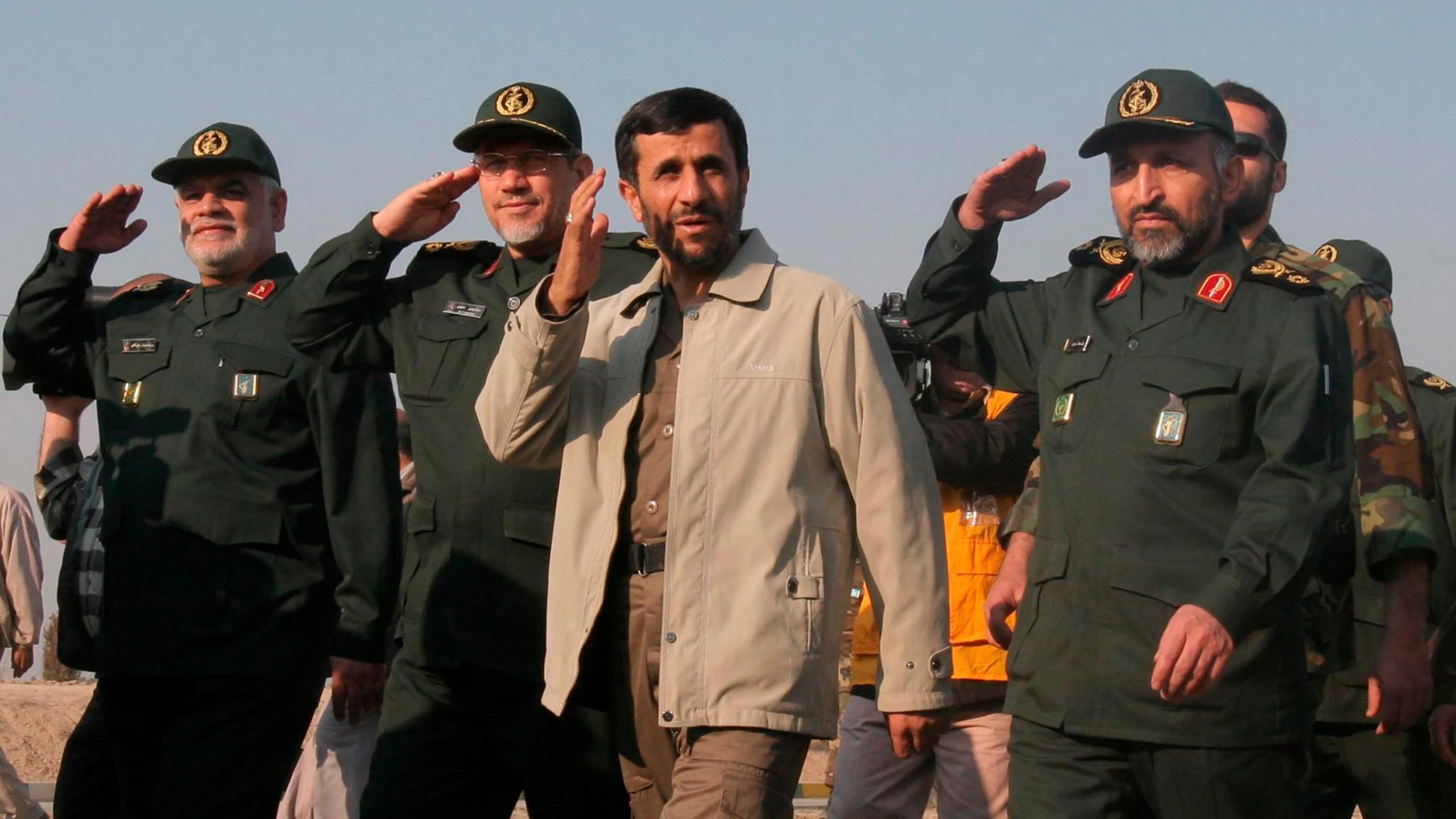 Mohammad Hosseinzadeh Hejazi, Mahmoud Ahmadinejad