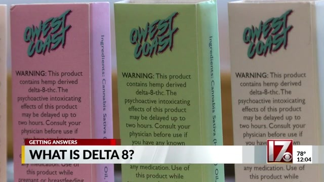 What is Delta 8 THC? Hemp derivative has some in NC questioning how it's legal