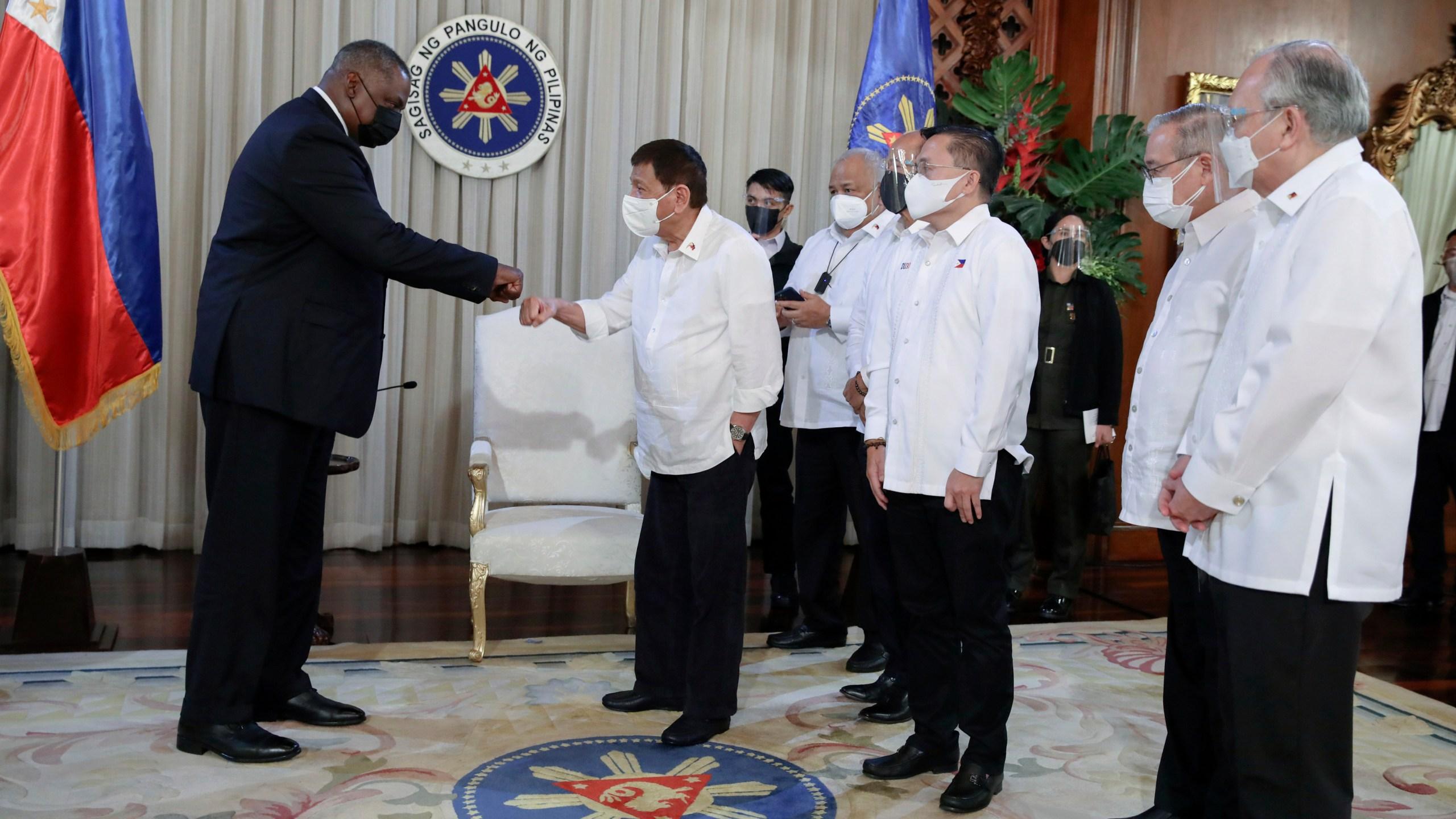 Lloyd Austin, Rodrigo Duterte
