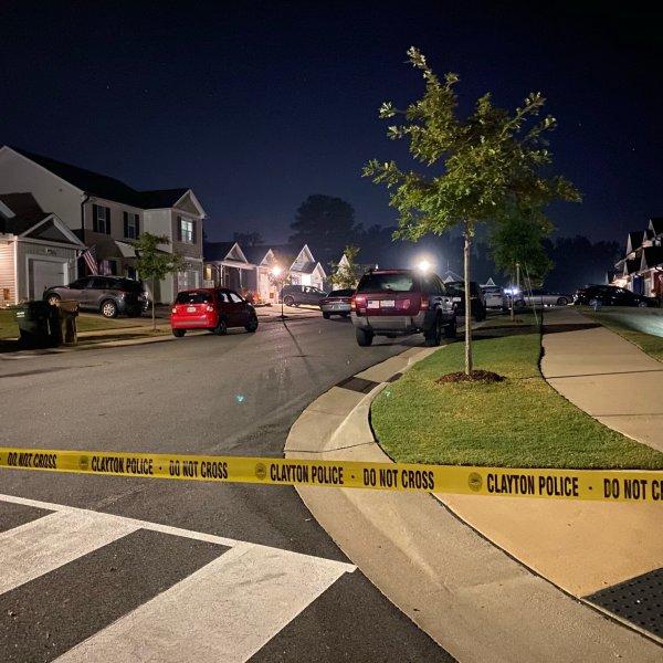 Scene of a Sept. 30, 2021 homicide investigation in Clayton.