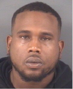 Mugshot of Darrell Hunter provided by the Cumberland County Sheriff's Office.